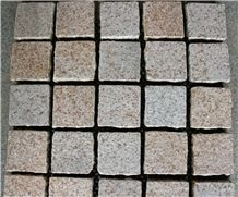 Own Factory-G682 Sunset Gold Yellow Granite Cube Stone Flamed for Exterior Pattern,Garden Pavers