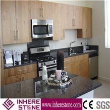 G654 Granite Kitchen Countertop ,Nero Impala China,Sesame Black Of Changle Pingnan Countertop, Dark Granite Countertop, Black Granite Countertop for Sale