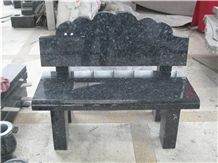 Blue Pearl Granite Bench for Cemetery Tombstones
