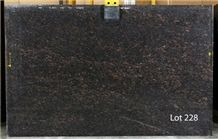 Tan Brown Granite Slabs, Chestnut Brown Granite