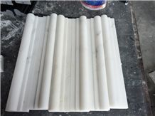 China White Marble Moldings,Oriental White Moldings, White Marble Chair Rails,Eastern White Chair Rails,Faux Stone Border,Ogee Moldings