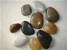 Multicolor Marble Pebble & Gravel,River Stone,Mixed Pebble Stone