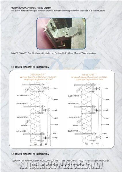 Marble Angles Aluminium from United Arab Emirates