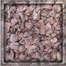Rosa Raveno Red Granite Gravels