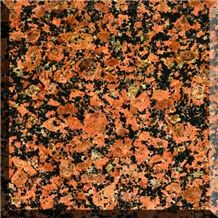 Rosso Toledo Granite Tiles & Slabs, Red Ukraine Granite Tiles & Slabs