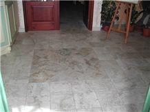 Travertino Venatino Antique Floor Pavement