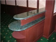 Indian Rajasthan Green Marble Tops