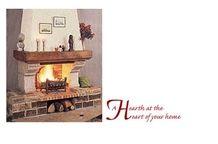 Gres Moliere Beige Sandstone Open Fireplace
