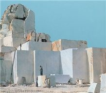 Pirgos White Marble Blocks Greece
