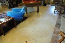 Pierre De Pontours Bourdeille Pavement, Beige Limestone Tiles & Slabs