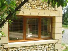 Pierre Dordogne Window Sills, Parapet, Frames