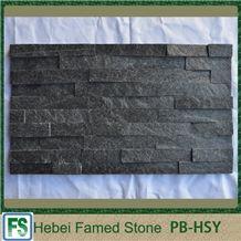 Black Quartzite Cultured Stone,Black Quartzite Stone Veneer