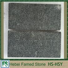 Black Stone Quartzite Tile, Black Sparkle Quartzite Tile for Floor, Hebei Black Natural Stone Tile