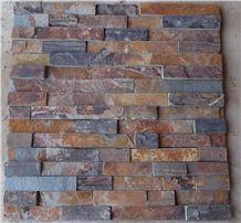 Rusty Stone Veneer,Dark Rusty Decorative Cultured Stone