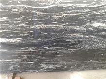 Silver Waves Granite, Black Forest Granite Tiles & Slabs