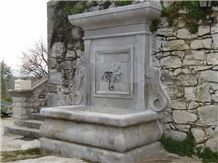Pierre De Ruoms Wall Mounted Fountain