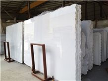 Crystal White Marble Slabs & Tiles, Calcite White Marble Slabs & Tiles
