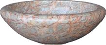 China Multicolor Marble Round Sink & Basin