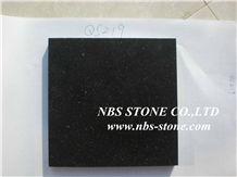 Black Artifical Nano Crystallized Glass Panel Slab
