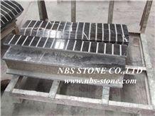 Black Marble Special Shape Line, Black Marble Molding & Border