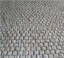 China Multicolor Granite Cube Stone Paving Stone