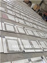 China Multicolor Marble Water Jet Medallion,Bulding Decration for Floor