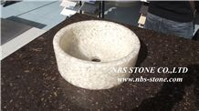 White Artificial Stone Sinks & Basins for Wash