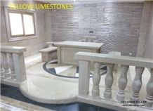 Yellow Limestones Slabs & Tiles