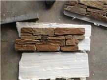 Yellow Lost Creek Cultured Stone Nature Pattern