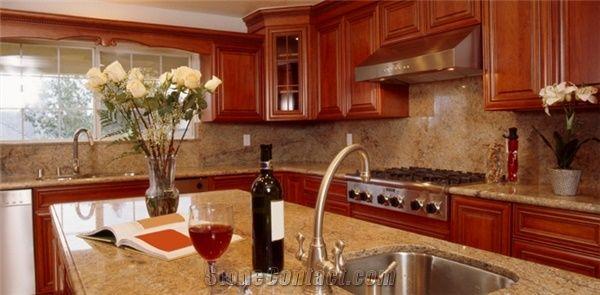 Imperial Red Granite Kitchen Tops, Red Granite Countertops