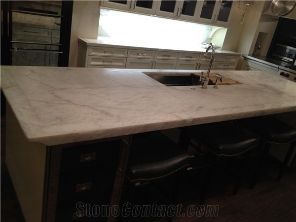 Iceberg Quartzite Countertop,White Quartzite Kitchen Island Top,zil on iceberg quartzite tiles, iceberg quartzite slabs, iceberg quartzite kitchen,