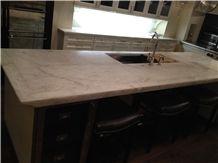 Iceberg Quartzite Countertop,White Quartzite Kitchen Island Top,Brazil White Quartzite Work Top