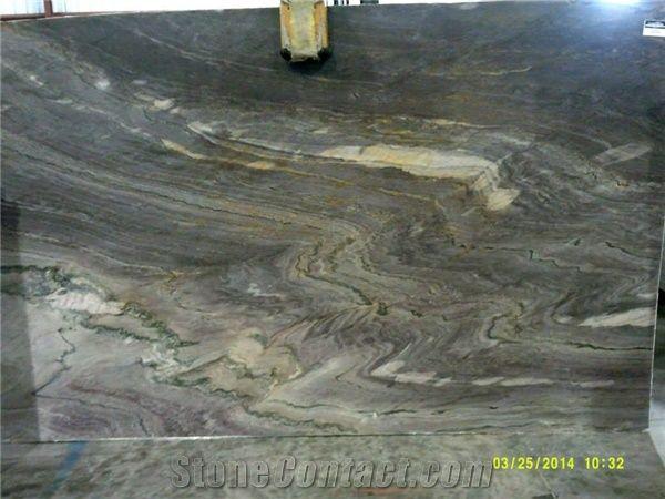 Aqua Royal Slabs Aquarella Quartzite From United States