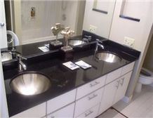 Black Granite Vanity Tops, Black Granite Bathroom Countertops