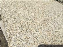 G682 Granite Slabs & Tiles, Yellow Granite,G682 Bushhammered,Dry-Cladding Yellow Granite,Cheap Yellow Granite, G682 Granite Pavers, Cheap Paving Stone, G682 Yellow Granite Paving Stone, China Yellow G
