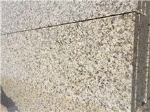 G682 Granite Tiles & Slab,Dry Cladding Stone,Out Wall,Bushhammered Tiles,Yellow G682 Bushhamered,Wall Cladding Stone,Golden Yellow,Yellow,Floor Tiles.Chinese Yellow Granite