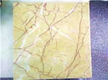Gold Rose Marble Slabs & Tiles, Iran Yellow Marble