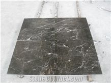 Cheap China Popular Dark Royal Brown Marble Polished Big Slabs & Tiles for Wall and Floor, Skirting, Natural Building Stone with White Line Pattern, Hotel, Villa, Shopping Mall Project Decoration