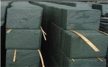 Natural Split China Green Slate Tiles & Slabs for Wall Cladding