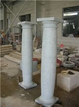 China White Marble Architecture Columns Marble Classical Columns