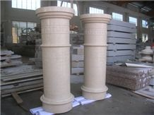 Own Quarry Factory White Marble Colume, Pillar,Stone Column