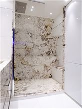 Copenhagen Granite Bathroom Shower Design