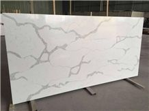 Luxury Interior Design Of Calacatta White Quartz Stone Slabs & Tiles,Materials Supplier at Competitive Pricing Standard Slab Size 118*55 and 126*63 More Durable Than Granite Thickness 2/3cm