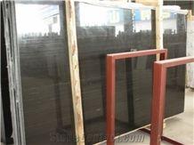 Royal Black Wood Veins,China Black Marble Slabs & Tiles