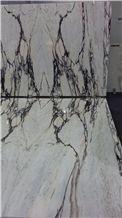 White Portugal Marble Tiles & Slabs, Paonazzo Estremoz, Vulcanatta, Paonazzo Gold