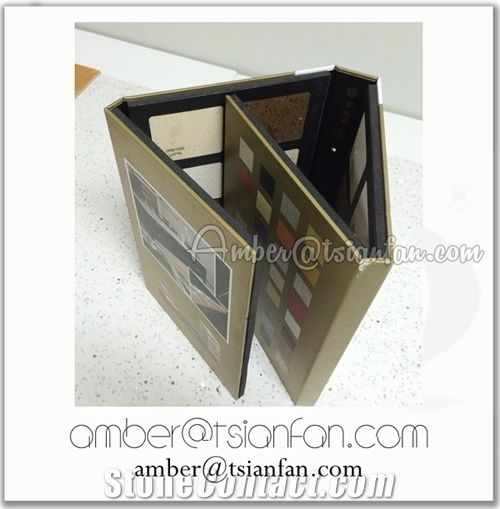 Granite And Marble Sample Binder From China