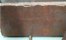 Red Volcano Granite Slabs Tiles