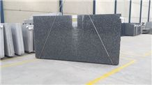 Negro Tezal Granite Slabs, Spain Black Granite Tiles & Slabs, Granito Negro Tezal