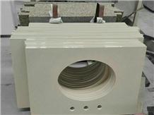 China White Artifical Quartz Stone Countertop