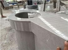 Cheapest and Competitive Cinderella Grey Marble Vanity Tops/Bath Tops/ Bathroom Vanity Tops
